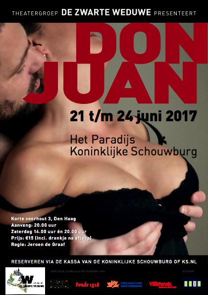 Theatergroep De Zwarte Weduwe speelt Don Juan
